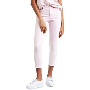 LEVI'S WEDGIE LILAC HIGH RISE SKINNY JEANS SIZE 32
